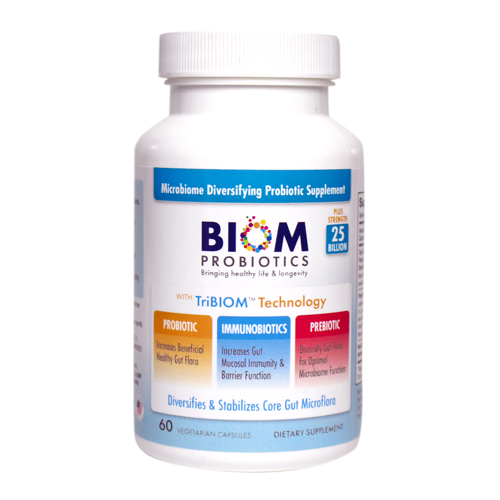 Biom Probiotics 3-in-1 Formula 25 Billion | Best supplements for gut health