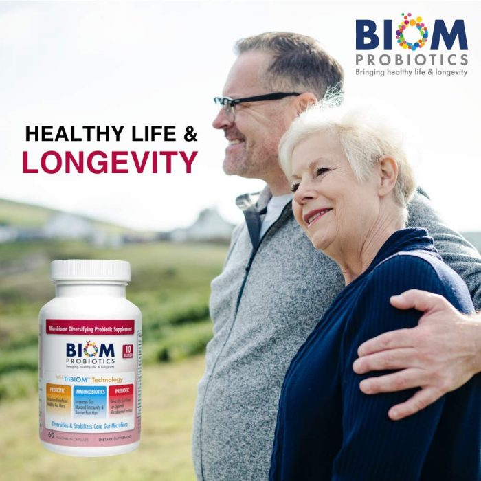 Top immune system booster product | Biom Probiotics 3-in-1 Formula 10 Billion