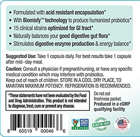 Biom Probiotics | Best Digestive Health Probiotic Supplement in Sarasota | Digestive Health Probiotics