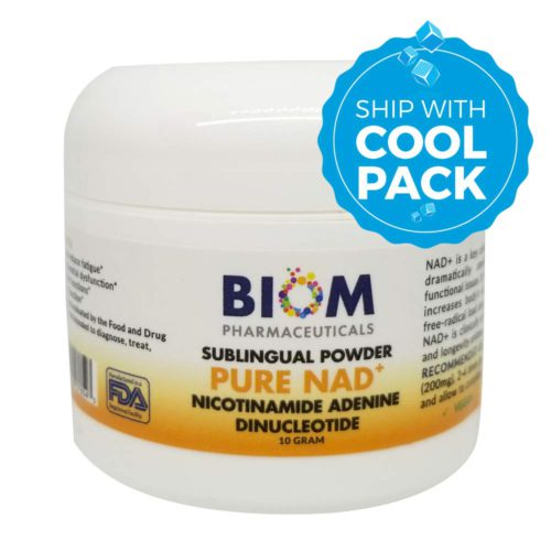 Top longevity supplement in Sarasota | Biom Probiotics | NAD+ Sublingual Powder | NAD+ Sublingual Powder