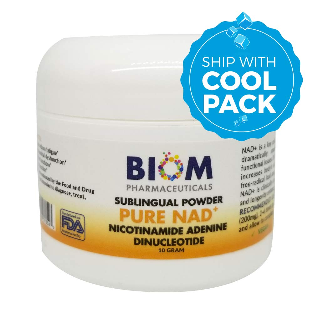 Top longevity supplement in Sarasota | Biom Probiotics | NAD+ Sublingual Powder