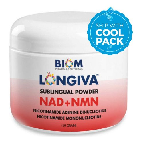 Supports and Improves Brain Health | Biom Probiotics | Biom NAD+NMN Sublingual Powder | Best Probiotic Supplements