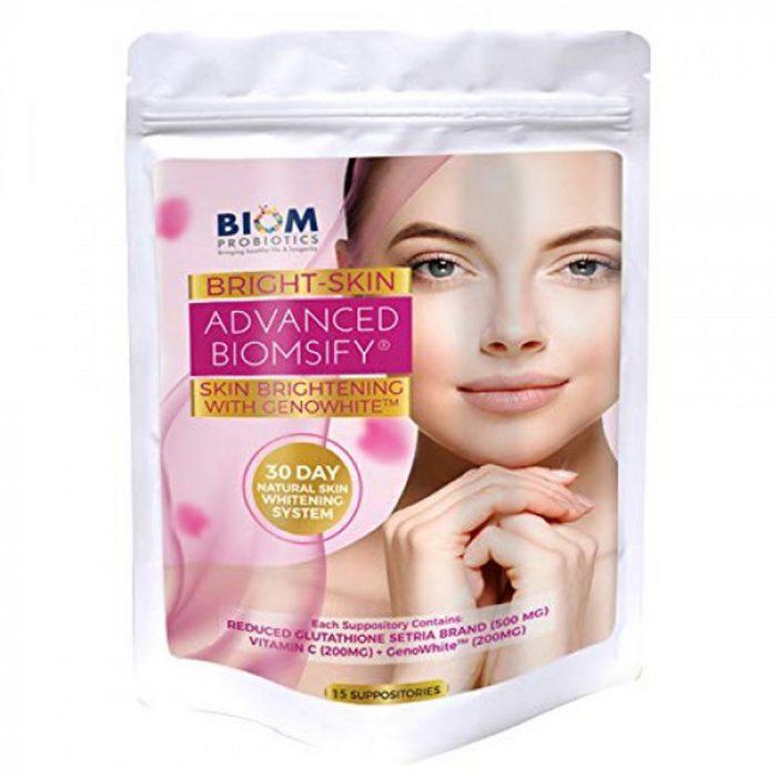 Bright Skin Liposomal Glutathione Suppository   BIOM Probiotic Suppository