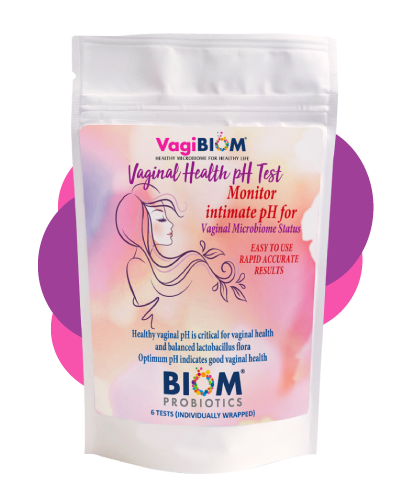 Biom Probiotics Vaginal pH Tester kit
